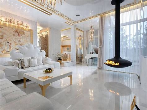 Glamorous Homes Interiors by