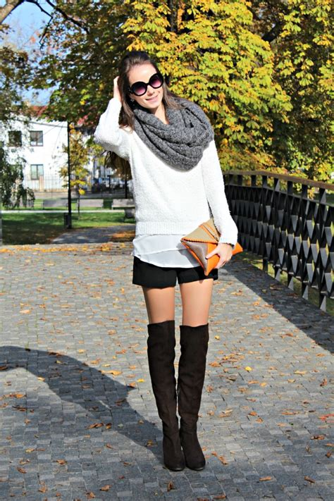 shorts with boots shorts the knee boots