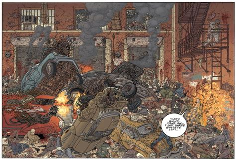 hard boiled second edition exclusive preview hellboy colorist dave stewart transforms miller darrow s hard boiled into a