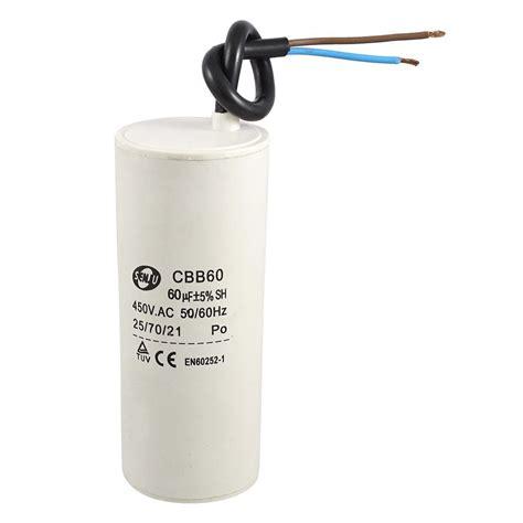 how to read air conditioner capacitor air conditioner 60uf 450v ac 50 60 hz de cbb 60 capacitor motor run white m1c7 ebay