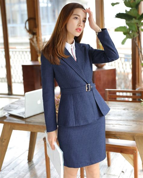 jacket design for ladies suit new style 2018 formal office uniform designs women
