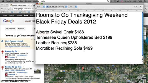 Black Friday Rooms To Go rooms to go black friday furniture sales 2012 swivel