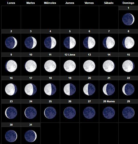 Calendario Lunar Octubre 2017 España Calendario Lunar Octubre 2017 Esoterismos