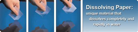 Make Dissolving Paper - best seller dissolving paper paper melts in water