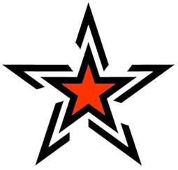 free star tattoos designs clipart best