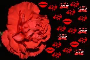 Liebe rote herzen liebe blumen kunst kostenloses stock bild public