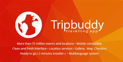 tripbuddy travel locations   web app