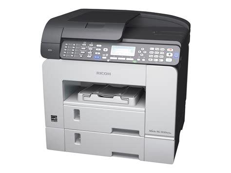 ricoh aficio sg 3110sfnw imprimante multifonctions