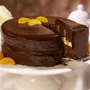 schoko mandarinen kuchen chocolate mandarin orange cake dessert recipes dole