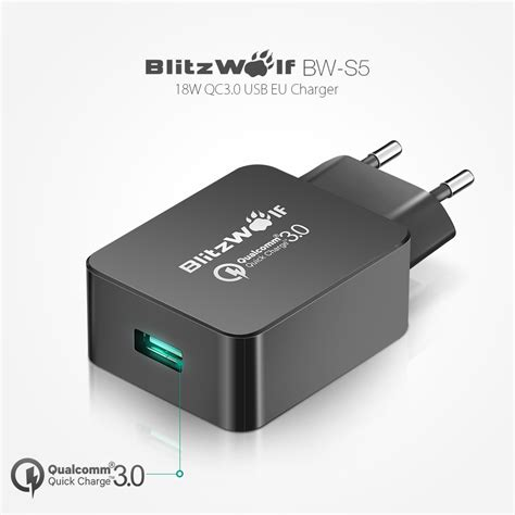 most powerful usb wall charger aliexpress buy blitzwolf eu certified charge 3