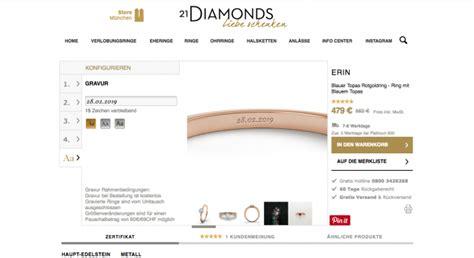 Verlobungsring Konfigurieren by 21diamonds Verlobungsring Konfigurator Testbericht