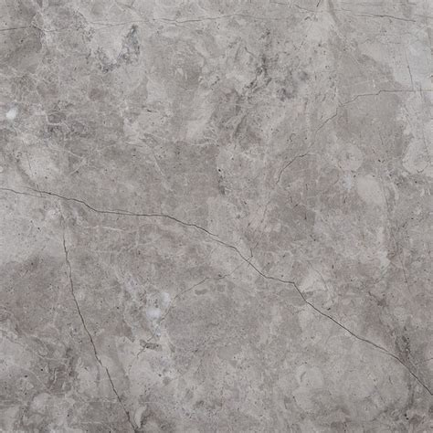 610x610x15mm tundra grey honed light marble tile 8061