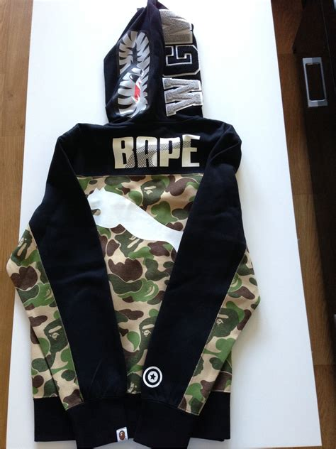 Celana Bape Jogger A Bathing Ape 3 x bape shark hoodie a bathing ape camo size m 283186 from anthony vignier at klekt