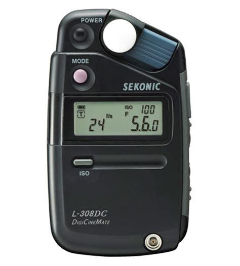 sekonic l 308dc digicinemate light meter • camera news and