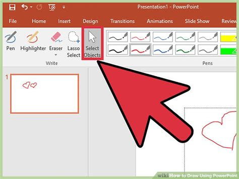 how to doodle in powerpoint 3 ways to draw using powerpoint wikihow