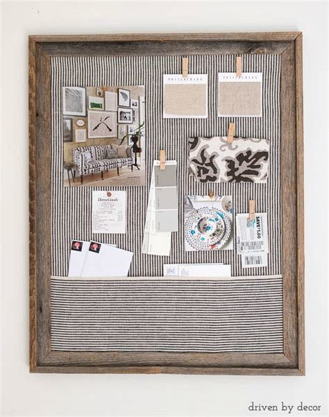 Ordinary Church Office Decorating Ideas #8: Simple-step-by-step-tutorial-for-making-a-DIY-fabric-covered-cork-bulletin-board.-A-great-way-to-get-organized.jpg