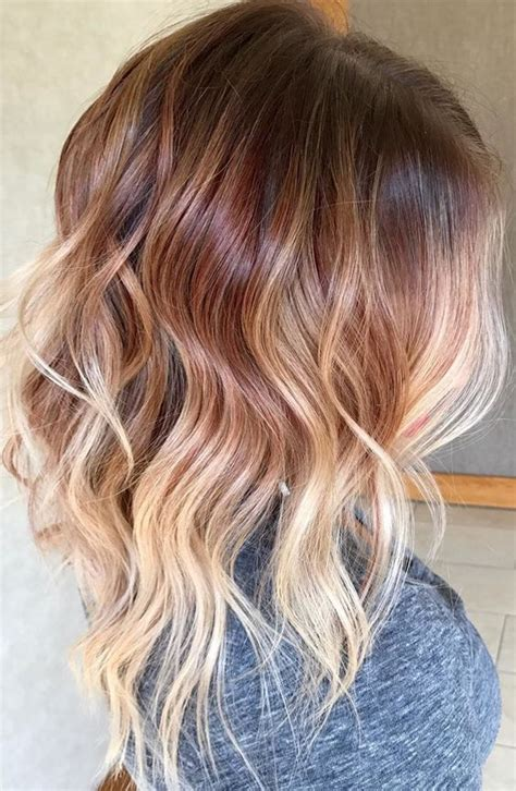 most popular hair colors for spring top 15 fall auburn ombre hair color trends 2017 2018