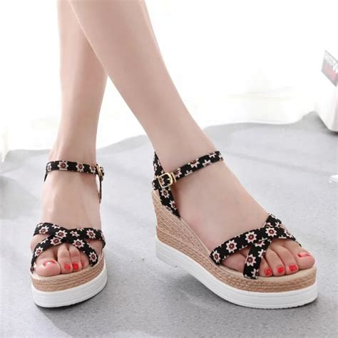womens sandals 2015 2015 summer wedges sandals high heeled