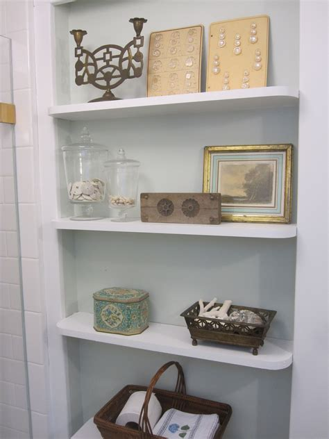 bathroom shelf ideas keeping  stuff  traba homes