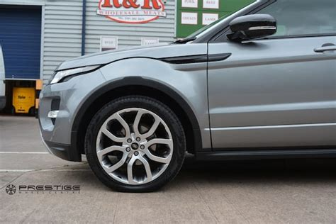 chrome range rover evoque land rover evoque alloy wheel refurbishment shadow chrome