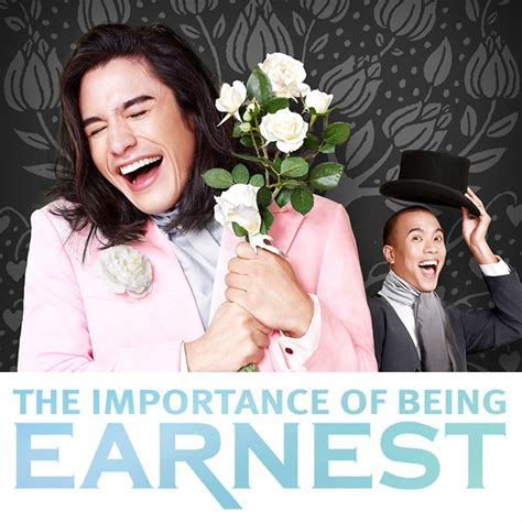 the importance of being glen goei s the importance of being earnest is back