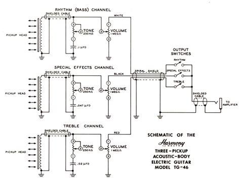 harmony guitar wiring diagrams 2 get free image