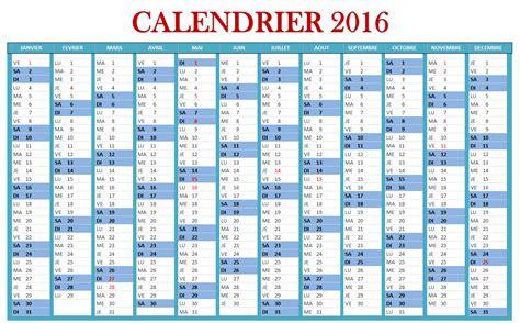 Calendrier 2016 à Imprimer Gratuit Personnalisé Calendrier 2016 Xls Calendar Template 2016