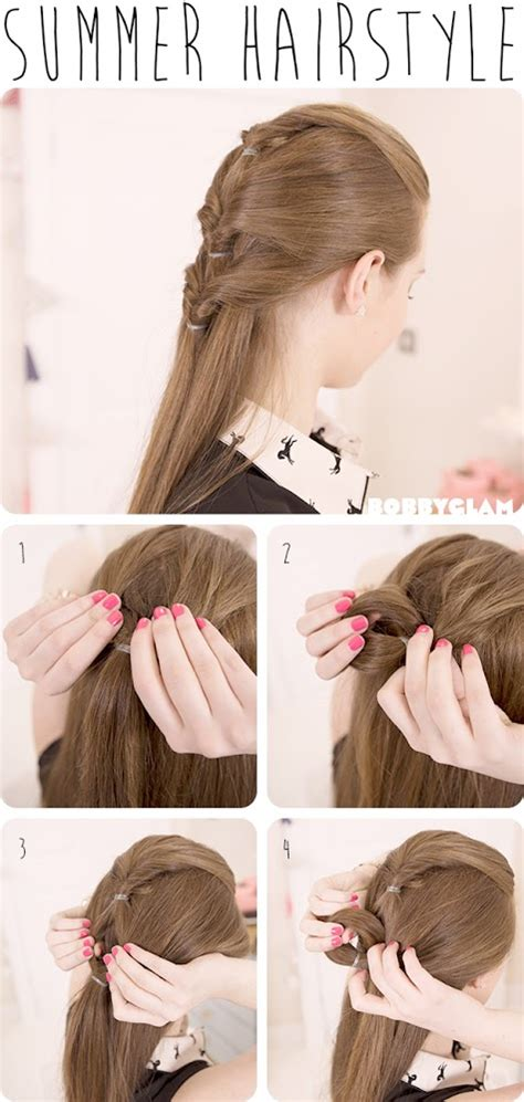 cute everyday hairstyles tutorials cute summer hairstyle hair tutorial hairstyles tutorial