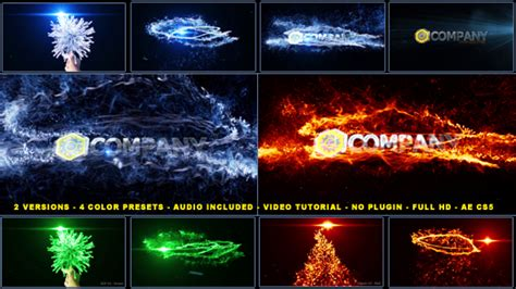 free after effects templates no plugins after effects project files magical particles vortex