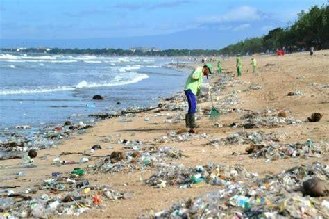 bali declares garbage emergency  sea  waste abs
