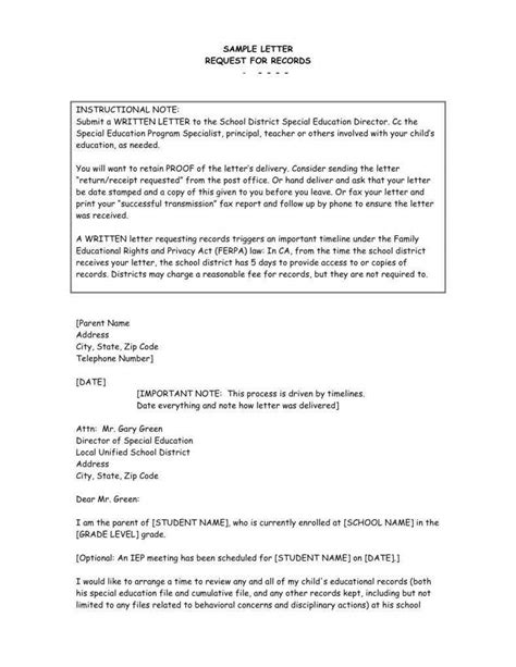 13+ Request Letter to a Principal Templates - PDF | Free