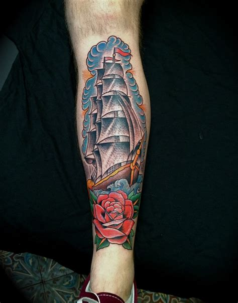 clipper ship tattoo 1000 images about artist luke wessman on