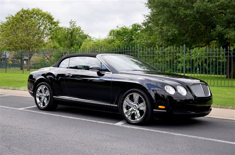 bentley houston 2008 bentley continental gtc gt stock 08bentgtc for sale
