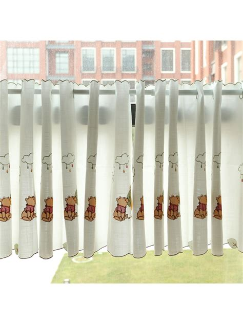 cafe curtains australia lind panda embroidered ready made eyelet kitchen cafe