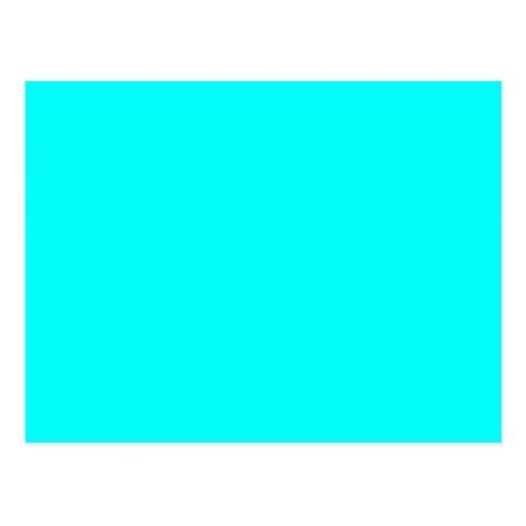 neon blue color code neon blue teal light bright fashion color trend postcard