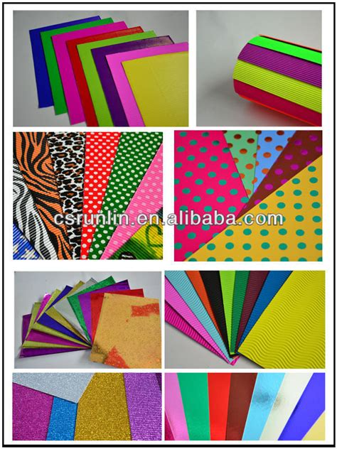 Buy Craft Paper - shinning color glitter paper decorating scrapbook paper