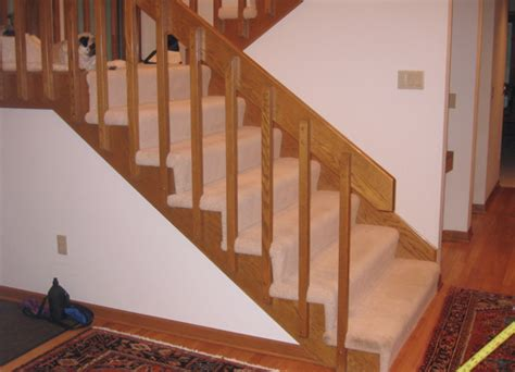 Banister Replacement by Staircase Railing Replacement Croselemke