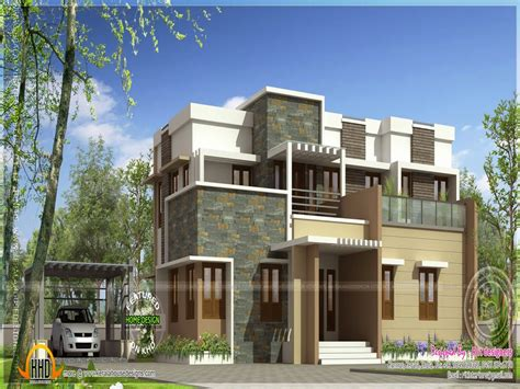 flat home design flat roof modern house plans flat roof two story house