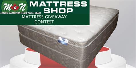 mattress giveaway and food bank donation parksville mattress