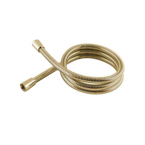Gold Bath Shower Mixer Taps mx stainless steel gold hi flow double interlock shower