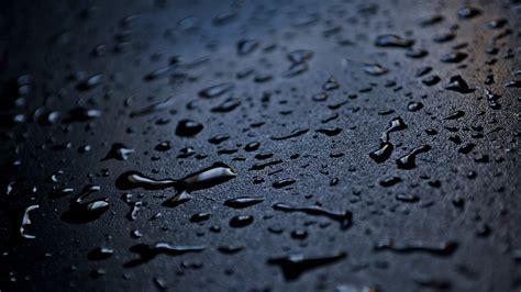 wallpaper black rain raindrops wallpaper 2560x1440 80906