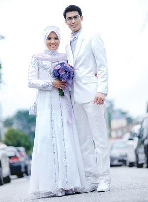 design dress pengantin pengantin muslimah hannan gallery