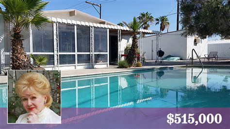 debbie reynolds home former debbie reynolds owned home is for sale in palm