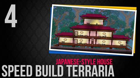 how to add japanese style to your home decoholic speed build terraria 4 japanese style house youtube