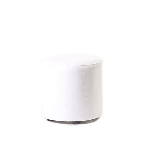 white round ottoman round ottoman white unik furniture hire durban kwazulu