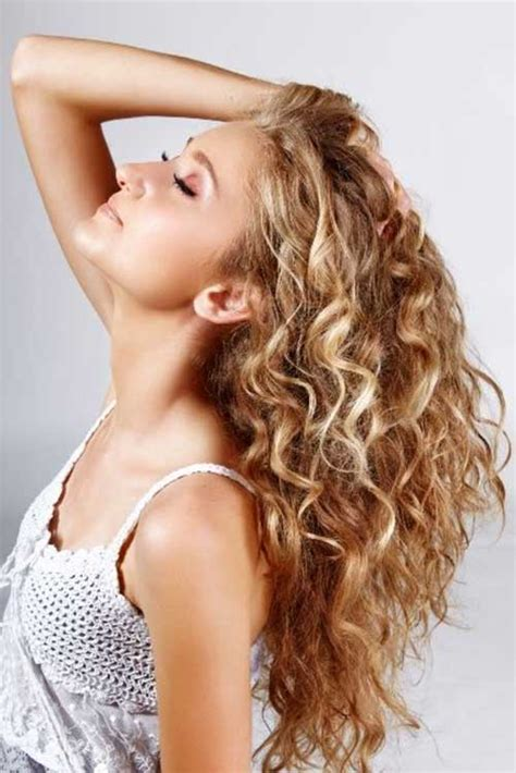 hairnets for perm long hair style with perm big hair style brunette picture