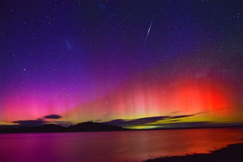 southern lights southern lights put on a spectacular show over australia