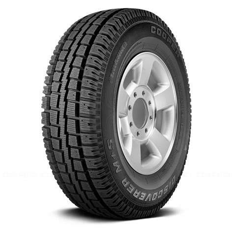 cooper light truck tires cooper tire lt245 75r 16 135q discoverer m s winter snow