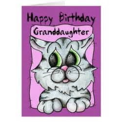 happy birthday granddaughter greeting cards zazzle