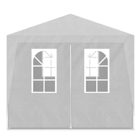 gazebi bianchi articoli per vidaxl gazebo da esterno tenda per feste 3 x